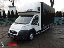 Peugeot BOXERSKRZYNIA PLANDEKA 10 PALET KLIMA TEMPOMAT PNEUMATYKA 180KM truck