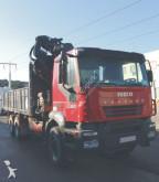 Camión caja abierta Hiab IVECO - CAMION GRUA IVECO 380 6X4 288 2005