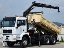 ciężarówka MAN TGA 26.360 Kipper Bordmatic + Kran *6x4!