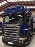 Camión caja abierta transportador de hierro Scania R420