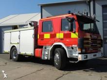 Scania wildland fire engine truck