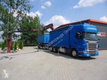 camion Scania R420 6x2 EURO5 Mit Kran Palfinger PK23002-SH
