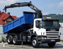 camion Scania 114c 340* Kipper 5,00 m + KRAN * 6x4 Bordmatic!