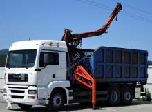 ciężarówka MAN Tga 26.410 Abrollkipper + Kran* Top Zustand!