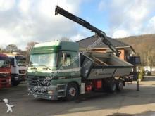 camion Mercedes 2543 2-seiten-Kipper ATLAS -Kran EURO 3