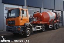 MAN concrete mixer truck