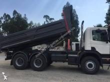 Scania half-pipe tipper truck