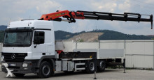 ciężarówka Mercedes Actros 2541 Pritsche 6,20m + KRAN PK44002!
