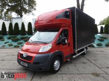 Peugeot BOXERPLANDEKA 8 PALET KLIMA WEBASTO TEMPOMAT PNEUMATYKA 180KM [ truck