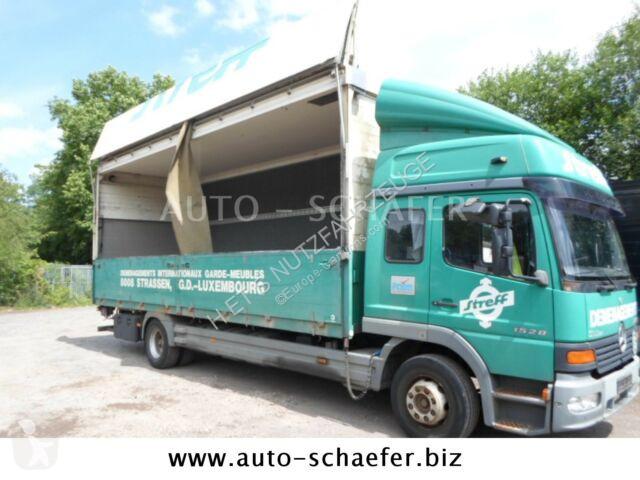 Camion Mercedes 1528 L/ Koffer 7200 mm/LBW