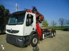 Camión portacontenedores Renault Premium 370