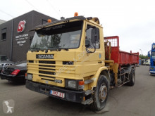 camion Scania 93 230 lames benne/grue