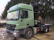 Mercedes 2658 Langholz 6x4 Schaltung Liv Kran L24.93 P truck
