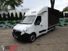 camión Opel MOVANOPLANDEKA FIRANKA 8 PALET WEBASTO KLIMA TEMPOMAT PNEUMATYK