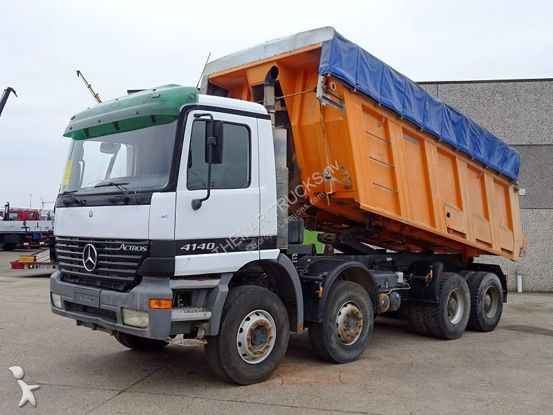 camion mercedes benne actros 4140 8x4 gazoil euro 1 occasion n 2765759. Black Bedroom Furniture Sets. Home Design Ideas
