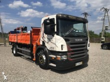Scania three-way side tipper truck