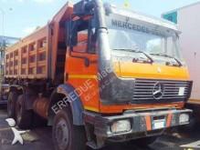 Mercedes three-way side tipper truck