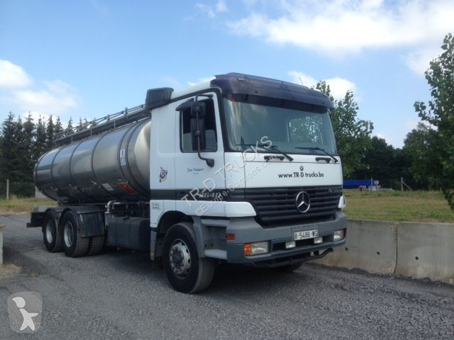 Camion Mercedes 2640 WITH TANK IN STAINLESS STEEL 16000 L -