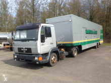ensemble routier MAN 10.224 WITH SHOP SEMI-TRAILER RVK