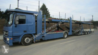 Mercedes car carrier truck