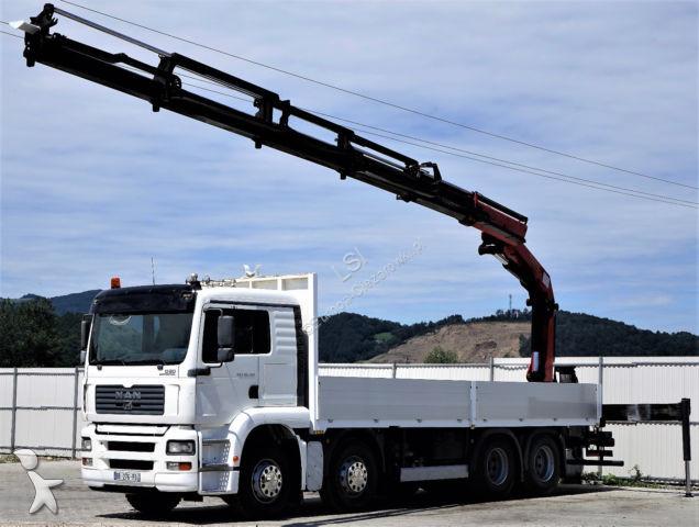 MAN TGA 35.430 Kipper 7,50m + Kran /8x4! truck