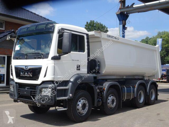 MAN TGS 41.420 8x4 / Kipper / EURO 6 LKW