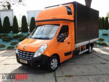 camion Renault MASTERPLANDEKA WINDA 9 PALET KLIMA WEBASTO 165KM [ 5686 ]