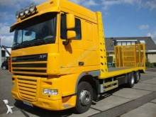 DAF heavy equipment transport truck