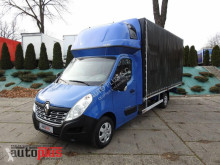 camion Renault MASTERPLANDEKA FIRANKA 10 PALET WEBASTO KLIMA TEMPOMAT PNEUMATY