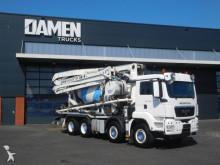 used concrete mixer + pump truck concrete truck