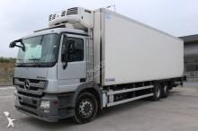 Mercedes multi temperature refrigerated truck