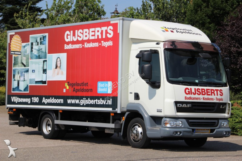 camion daf fourgon lf45 4x2 gazoil euro 5 hayon occasion - n°2789068