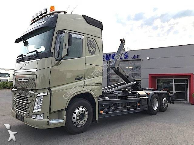 Camion volvo polybenne fh 460 globetrotter 6x2 euro 6 - Camion benne americain ...