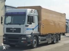 MAN beverage delivery flatbed truck