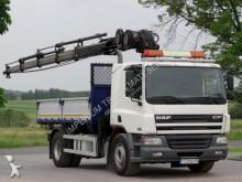 DAF CF 75.310 / 4X2 / CRANE HIAB 144E+3 SIDED TIPPER truck