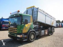 Scania three-way side tipper truck