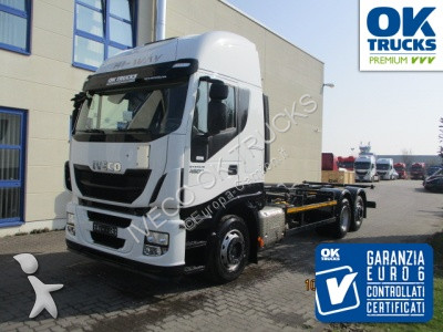 Iveco AS260S48Y/FP CM (Euro6 Intarder Klima) truck