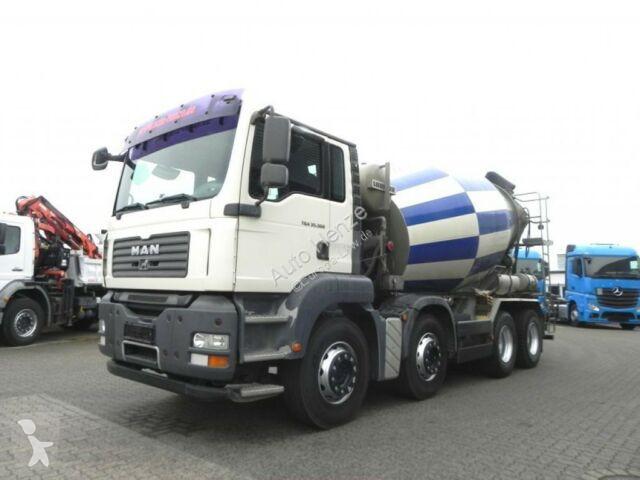 Camion MAN TG-A 35.360 8x4 Betonmischer sehr gepflegt