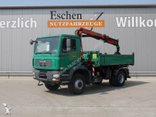 used three-way side tipper truck
