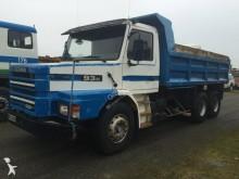 camión volquete OP Scania