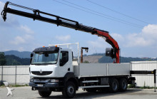 ciężarówka Renault Kerax 410dxi Pritsche 6,40m + KRAN 6x4!