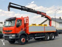 ciężarówka Renault KERAX 450 DXI/6X4/CRANE PALFINGER PK 20002/PILO