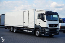 ciężarówka MAN TGS / 26.320 / KONTENER + WINDA / 23 PELETY