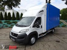 Fiat DUCATOPLANDEKA 9 PALET KLIMA WEBASTO PNEUMATYKA 180KM [ 3331 ] truck