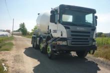 Camión hormigón cuba Mezclador Scania CAMION HORMIGONERA SCANIA 380 8X4 2008 10M
