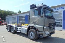 ciężarówka Mercedes Arocs 3352 K 6x4 Abrollkipper HIAB Knickarm 26 T