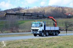 camion Mercedes Actros 4144 Pritsche 5,80m + KRAN / 8x4!