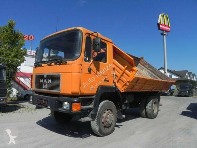 Camion MAN F90 18.232 FAK 2-Achs Allradkipper
