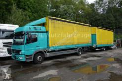 camión Mercedes 1229 PL-SP-Schlafkabine-Edscha-Stan