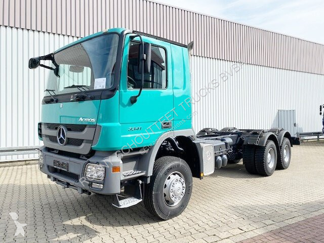 New Mercedes Actros chassis truck 3341 A 6x6 3341 A 6x6 MPIII Klima 6x6  Diesel Euro 3 - n°2802863